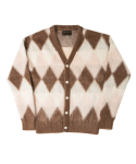 니들워크(NEEDLE WORK) MOHAIR AGYLE CARDIGAN-max weight