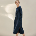 B TWO TUCK DRESS_DN