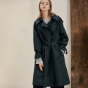 B TRENCH COAT_BK