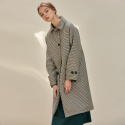 B HOUND TOOTH COAT_BR