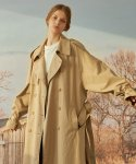 Buckle Trench Coat(BEIGE)
