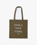 아이졸라(IZOLA) IZOLA New York Tote Bag - Olive