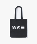 아이졸라(IZOLA) Signal Flag Tote Bag - Black