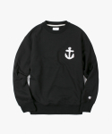 아이졸라(IZOLA) Anchor Crewneck - Black