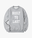 아이졸라(IZOLA) Bulid To Last Crewneck - Grey