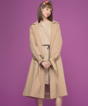 Classic Oversized Belt Trench Coat