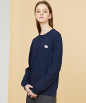 밀로그램(MILLOGREM) elephant patch sweatshirts - navy