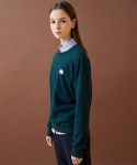 elephant patch sweatshirts - green
