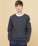 밀로그램(MILLOGREM) arm patch sweatshirts - gray