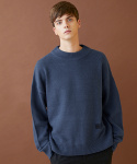 밀로그램(MILLOGREM) snuggle sweater - blue