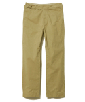 디아프바인(DIAFVINE) DV LOT.496 COTTON GURKHA PANTS -BEIGE- (BIOFADE)