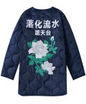 에스토(ESTO) ESTO QUILTED JACKET NAVY
