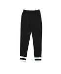 STRIPE JOGGER PANTS (BLACK)