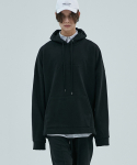 더 티셔츠 뮤지엄(THE T-SHIRT MUSEUM) 17aw oversized neutral hoodie [black]