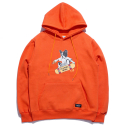 STV. SKATE BULLDOG HOODY ORANGE (STV X TPB)
