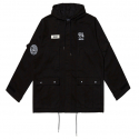 덱스터(DEXXTER) BIGGIE MILITARY PARKA(BLACK)