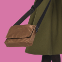 three kinds square bag - khaki color