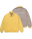 라이풀() RETRO REVERSIBLE BIG POCKET BLOUSON mustard