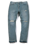 Damage Denim Pants (Sky Blue)