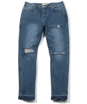 헤비스모커(HEAVYSMOKER) Damage Denim Pants (Blue)