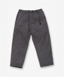 그라미치(GRAMICCI) WOOL LOOSE TAPERED PANTS HEATHER CHARCOAL