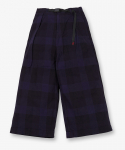 그라미치(GRAMICCI) NEL CHECK BAGGY PANTS NAVY