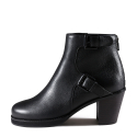 스틸몬스터(STEAL MONSTER) Kinsey Ankle Boots SCE033-BK