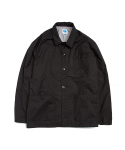 빅웨이브 컬렉티브(BIGWAVE COLLECTIVE) WIND CHORE JACKET BLACK