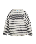 빅웨이브 컬렉티브(BIGWAVE COLLECTIVE) OCEAN STRIPE TS BLACK