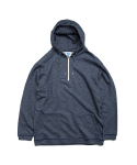 빅웨이브 컬렉티브(BIGWAVE COLLECTIVE) ATHLETIC HALF ZIP HOODY NAVY