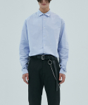 17aw oxford shirt [blue]