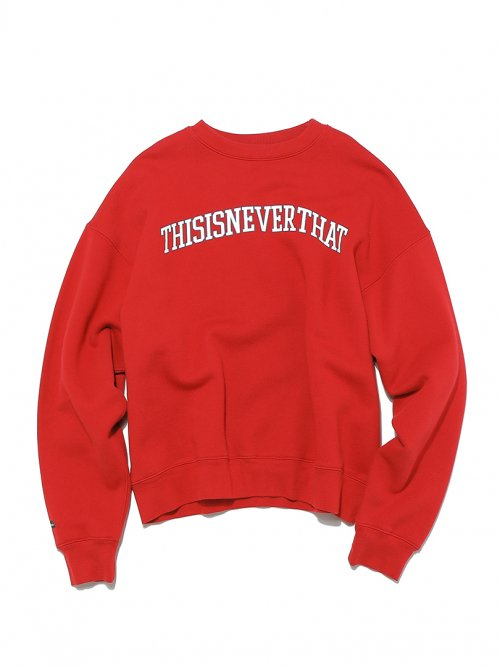 ARC-Logo Crewneck Red