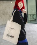 디얼스(THE EARTH) DOWNSHIFTER ECO BAG - ECRU