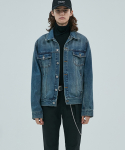 더 티셔츠 뮤지엄(THE T-SHIRT MUSEUM) 17aw denim jk [blue]