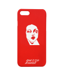 메조쿤스트(MEZZOKUNST) METT SYMBOL IPHONE CASE - RED
