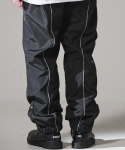 reflective line warm up pants