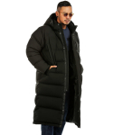 헤비스모커(HEAVYSMOKER) Long Hood Duck Down Padding (Black)