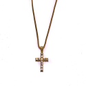 디자인바이티에스에스(Design By TSS) Design By TSS GOLD MEDIUM CROSS Necklace (GOLD)