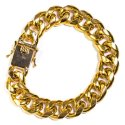 Design By TSS CUBAN LINK BRACELET (GOLD)