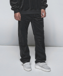 디프리크(D.PRIQUE) Velour Track Pants Black
