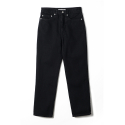 NOCLAIM 10th Anniversary Used wash Standard fit Ankle Denim Black