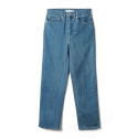 NOCLAIM 10th Anniversary Used wash Standard fit Ankle Denim Blue
