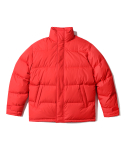 인사일런스() Essential Down Jacket Red