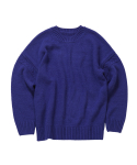 왓에버위원트(WHATEVERWEWANT) [UNISEX] ALPAKA PULLOVER [PURPLE]