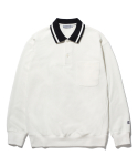 라이풀(LIFUL) CLASSIC LONG SLEEVE POLO white