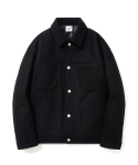 파르티멘토() Wool Trucker Jacket Black
