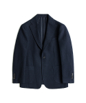 매료(MAERYO) WOOL JERSEY SINGLE JACKET - NAVY