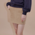 아웃스탠딩오디너리(OUTSTANDING ORDINARY) GATE MINI SKIRTbeige