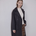 아웃스탠딩오디너리() CODINGTON OVERSIZED COATdark grey