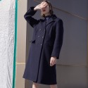 DIDION LONG COATNAVY